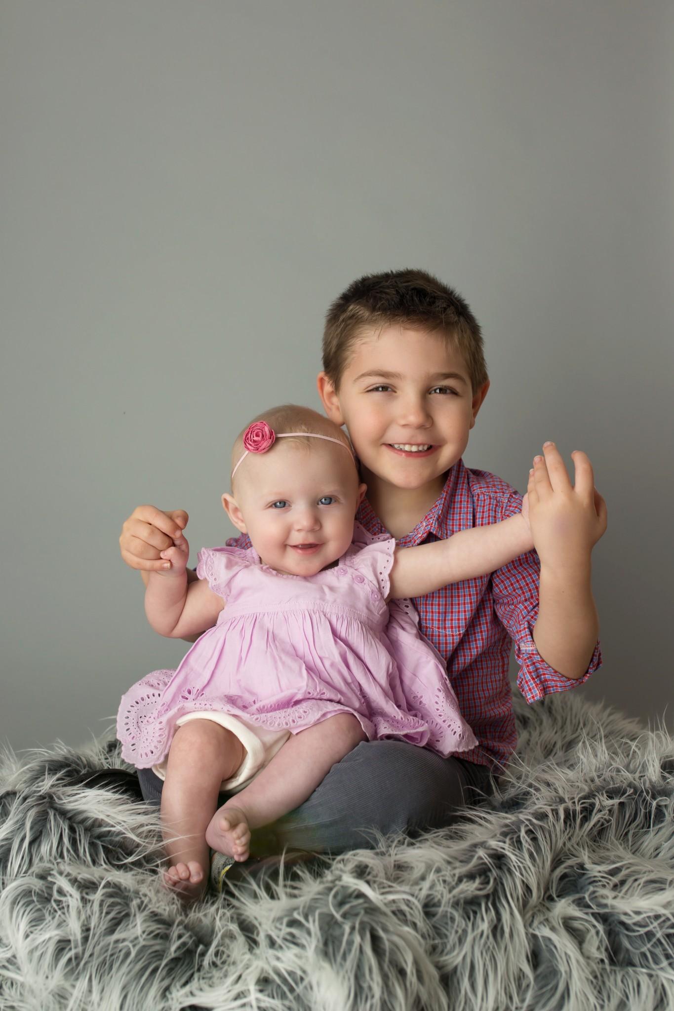 Sibling portrait session