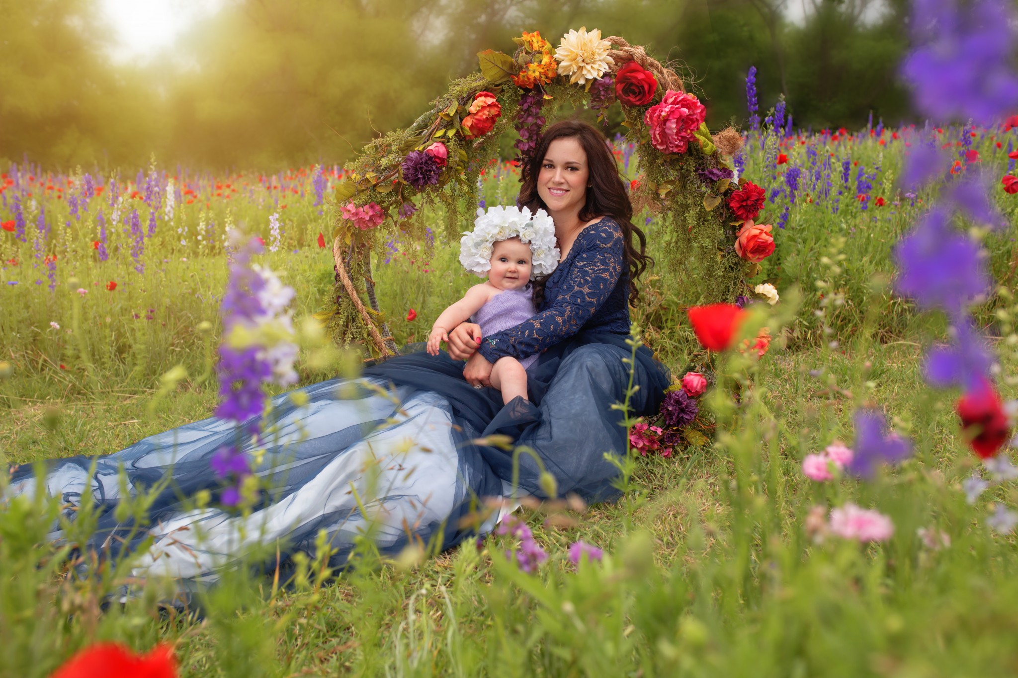 Dallas mommy and me photography
