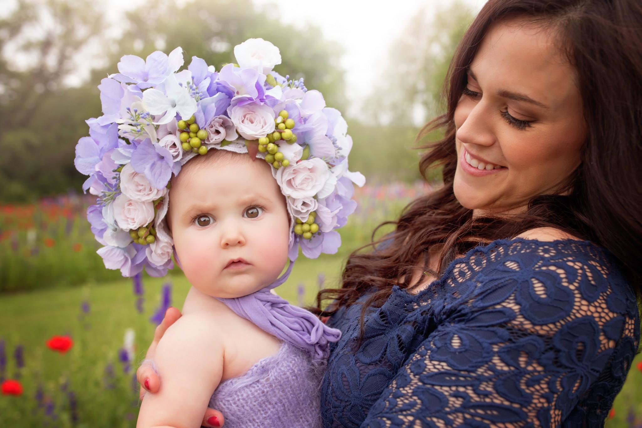 Dallas baby photo shoot