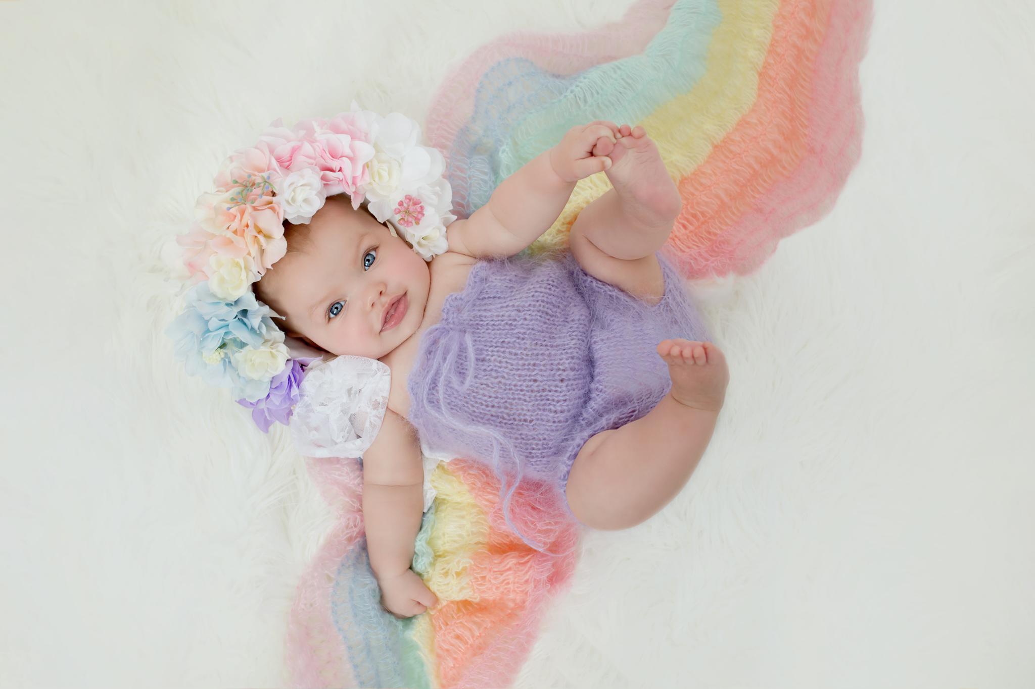 Dallas Rainbow Baby Photography