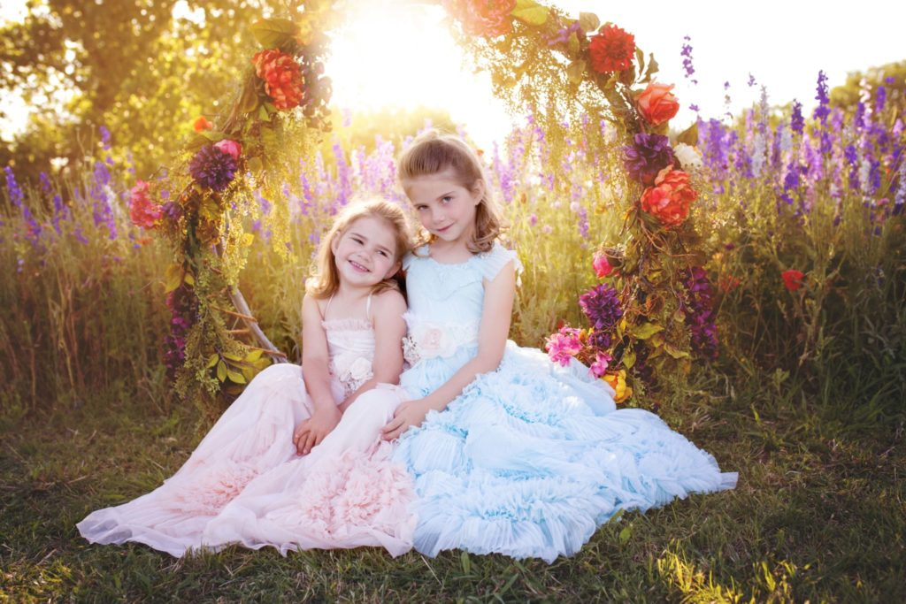 Richardson texas wildflower field the perfect place for a fairy tale photography session