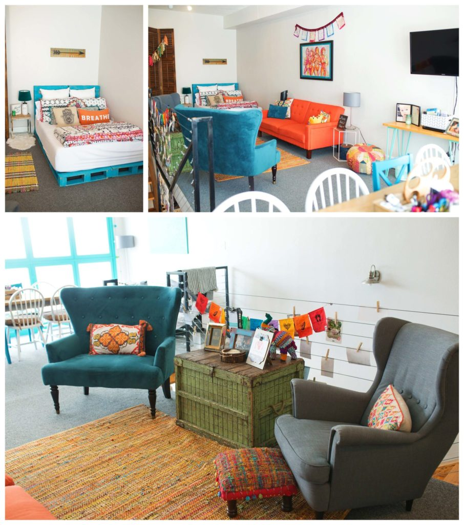 The best doulas in Dallas upstairs lobby