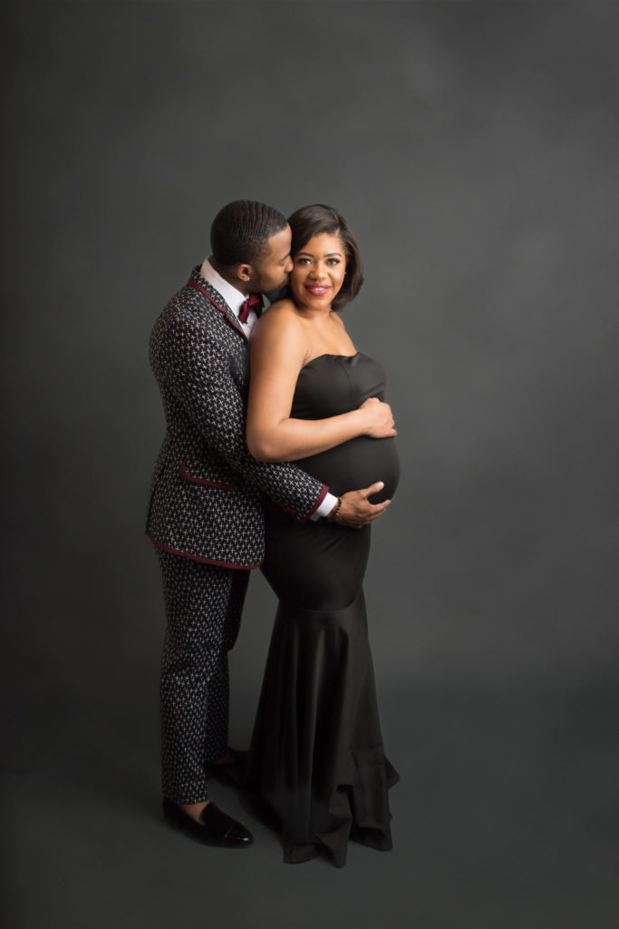 Formal maternity portraits Dallas