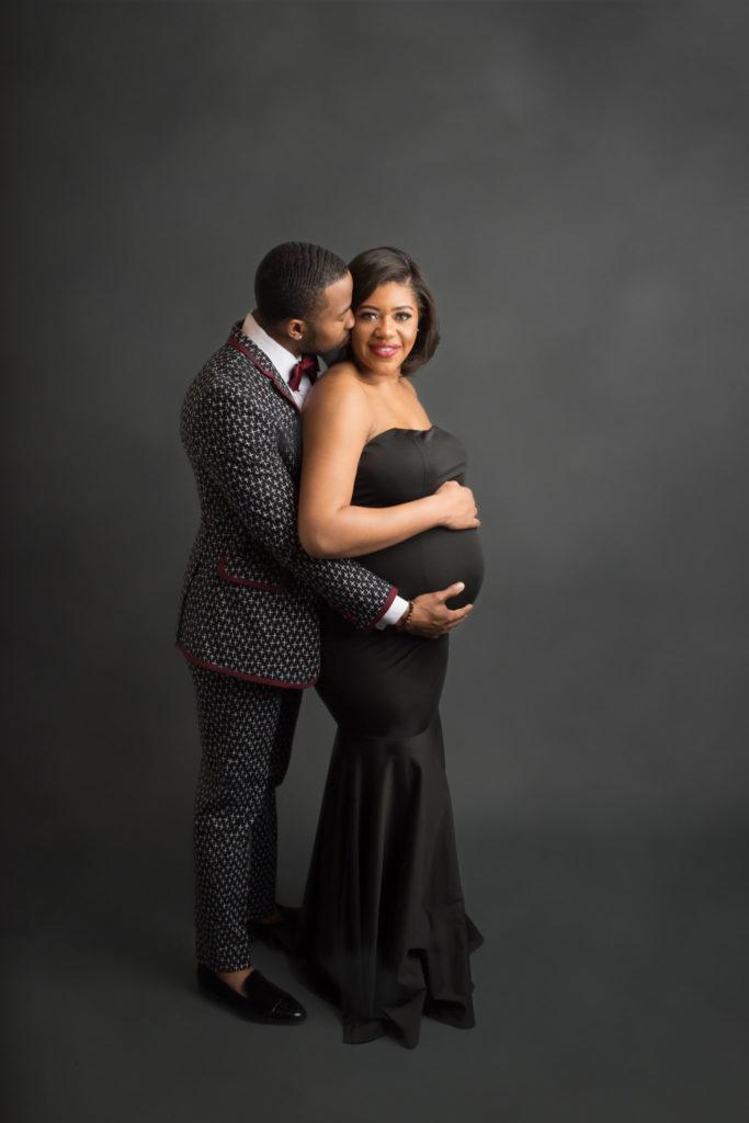 Formal maternity portraits Dallas