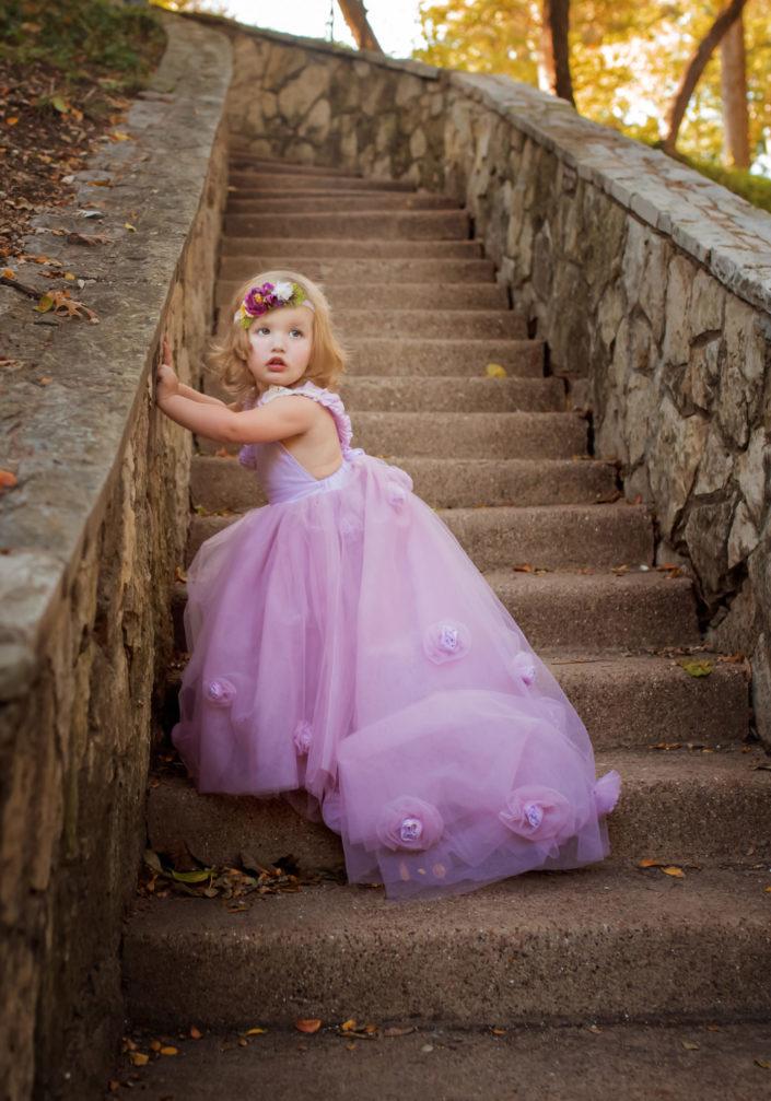 Highland Park Child Photographer takes formal child portraits at Prather Park near Dallas Texas - Dallas Child Photographer