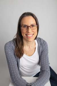 Prenatal yoga expert Mireille Mears pictured in headshot