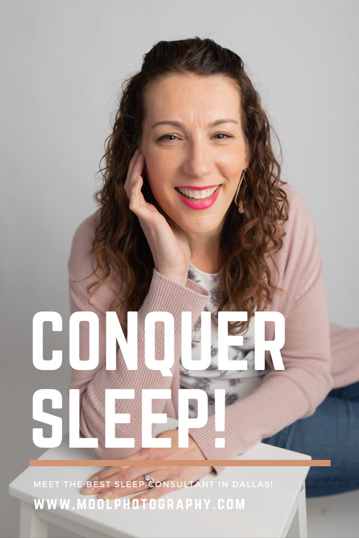 conquer sleep with the best sleep consultant expert in Dallas by Dallas newborn photographer Mod L Photography