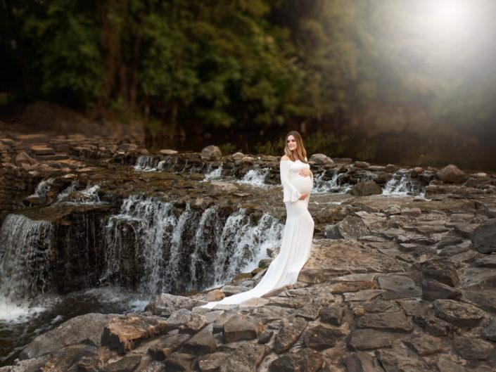 White Juliet Gown
